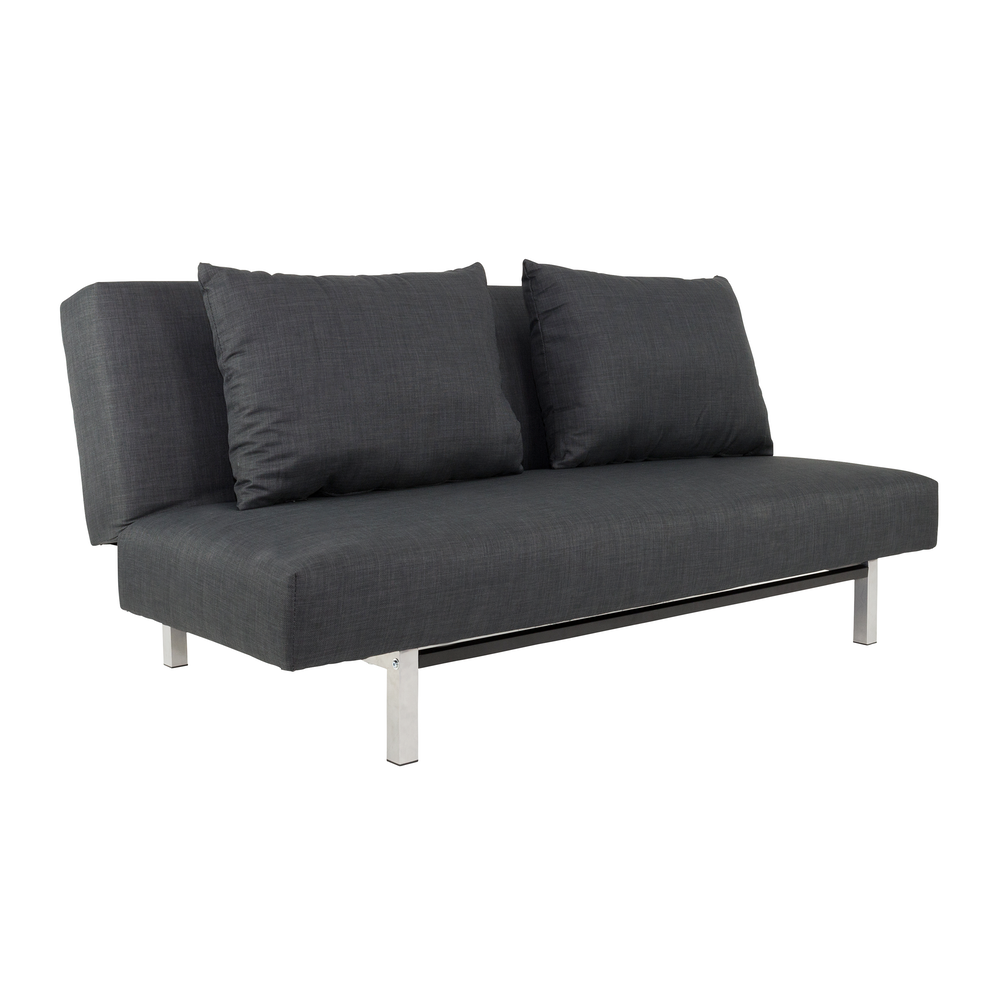 Sofa beds grey ah18 gray sofa bed kk18 at home usa for Grey divan bed