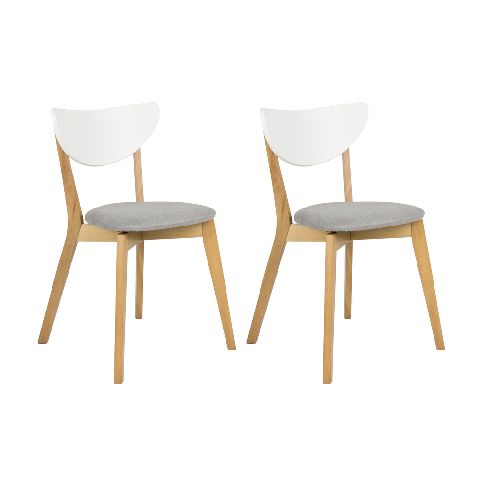 Chelsea dining chair set of 2 hipvan 2 seat dining set